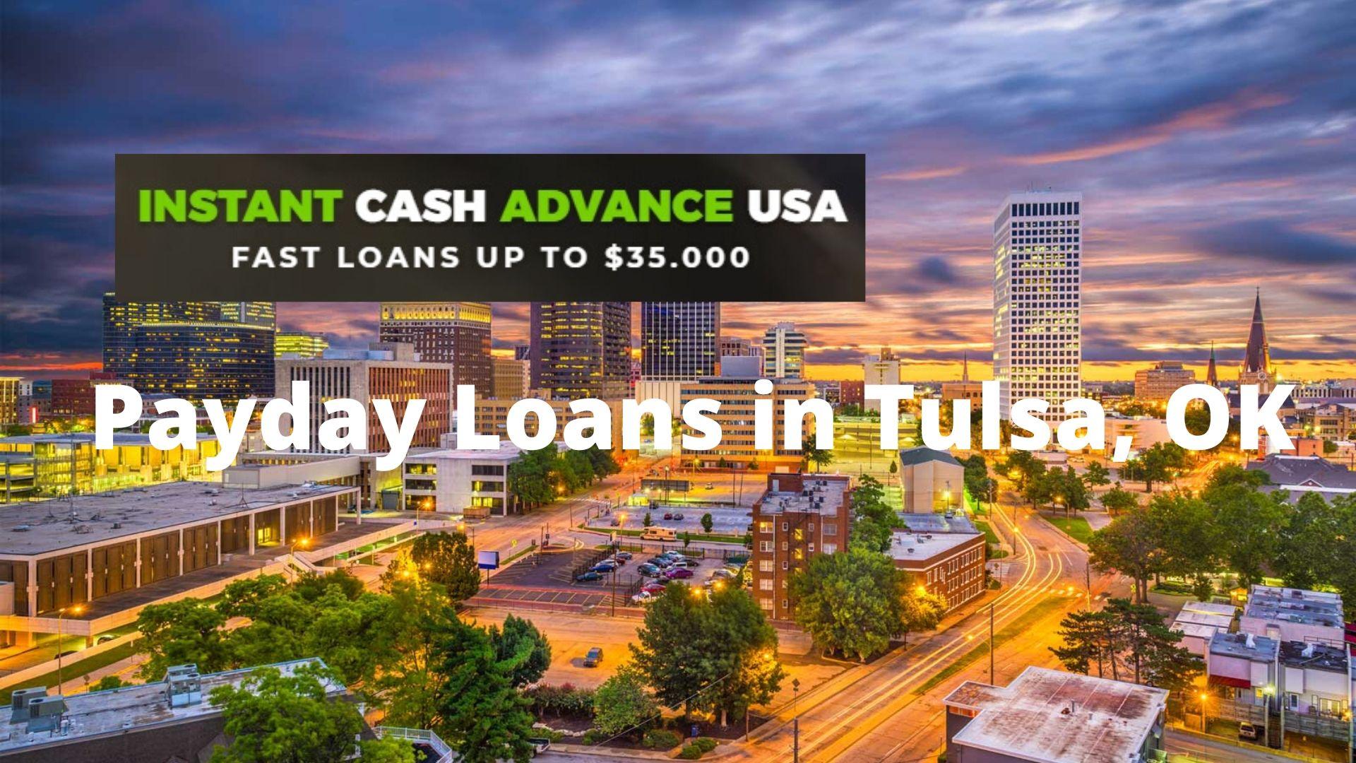 Cash Advance Tulsa