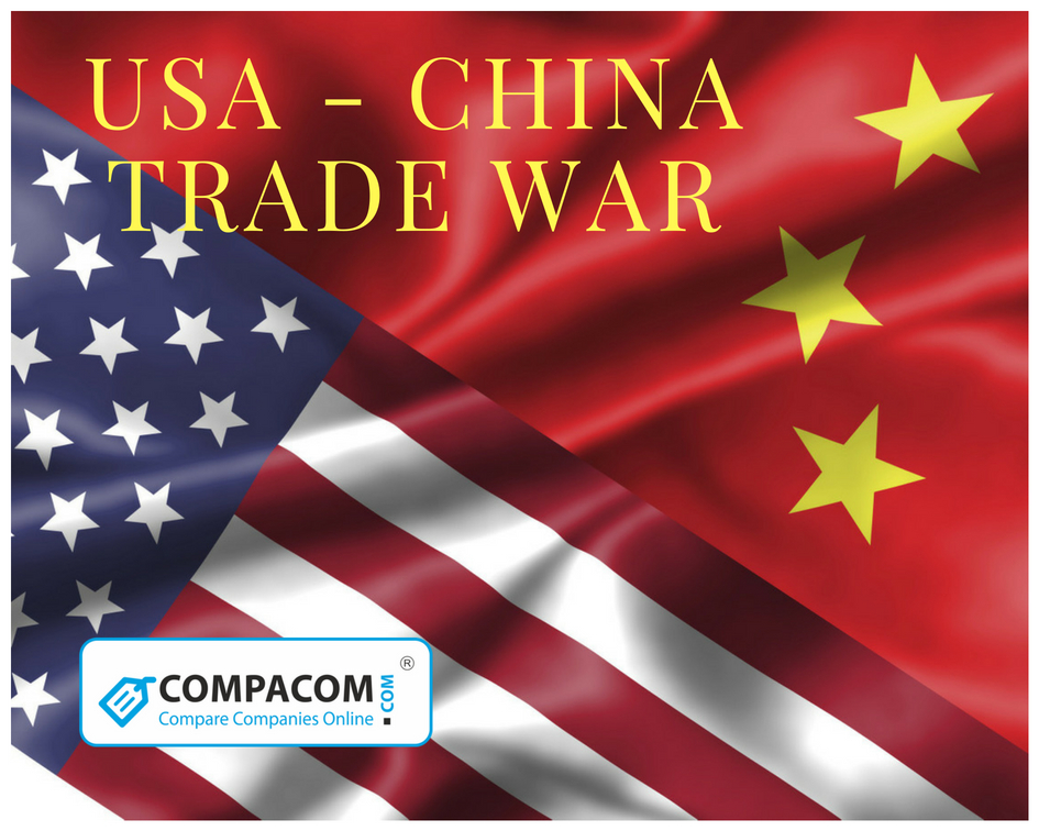The USA experiences economy growth while China is in decline
